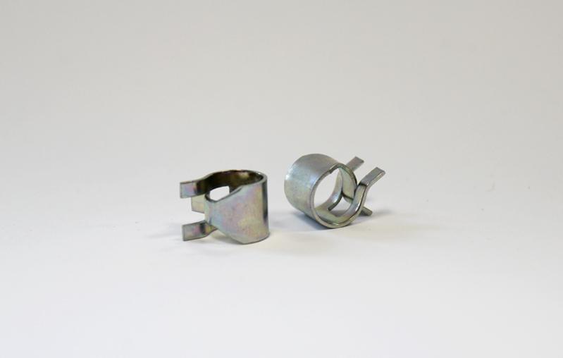 Blechfederklemme Durchmesser 8,0 mm - Metzger-Technik-Shop