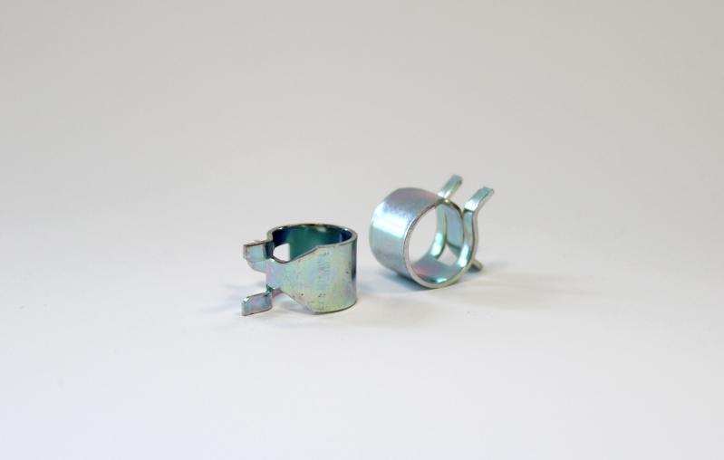 Blechfederklemme Durchmesser 10,0 mm - Metzger-Technik-Shop