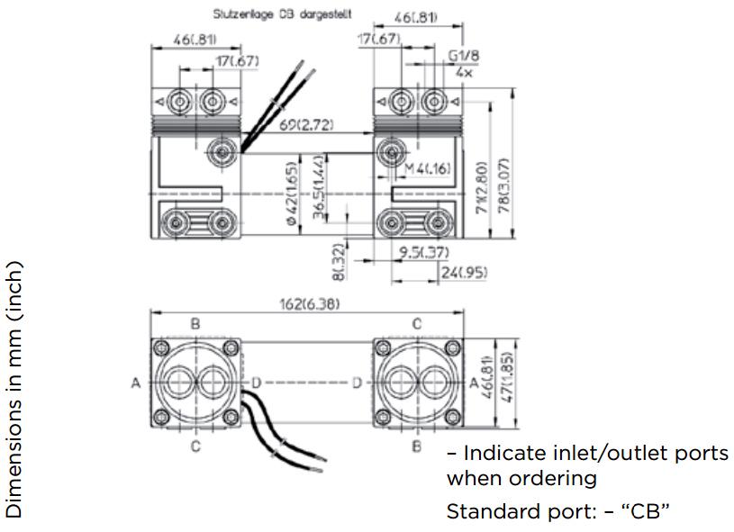 Membranpumpe 7006 | 15 l/min | 2,5 bar | -850 mbar | 12V